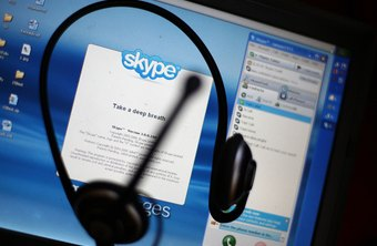 You might be too busy to take a full Skype call.