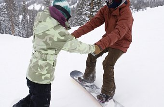 Snowboarding is an effective way to keep active during the winter months.