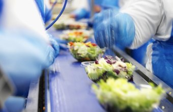 Food processors offer entry-level positions.