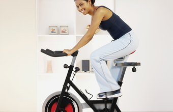 Work your heart, lungs, legs and more on a stationary bike.