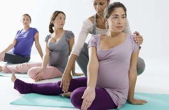 Some personal trainers specialize in pre- or post-natal exercise.