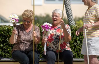Group homes allow senior citizens to live together in semi-independent housing.