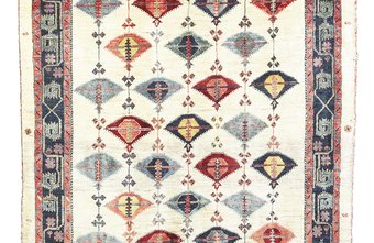 Used carpets come in various sizes, shapes and colors.