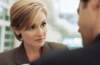 Look your boss in the eyes when you talk to her.