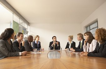 Board meeting items commonly are proposed by people other than the chairman or president.