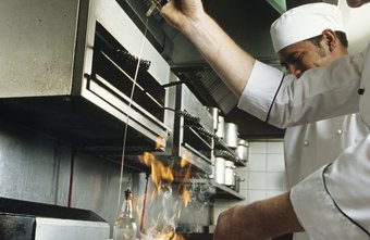 A good restaurant manager must be able to stay cool under fire.