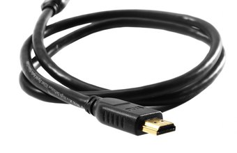 HDMI cables transfer audio/video data from a computer to a digital device.