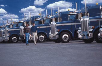 In down times, increased fuel costs and competition impact the trucking industry.