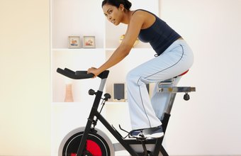 You can lose weight in your living room with an exercise bike.