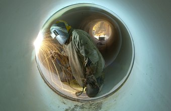 Pipeline welding is a specialized skill.