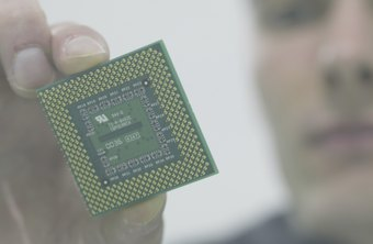 The four cores of a quad-core processor are built into a single chip.