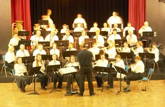 A band director may conduct music for smaller, specialized bands.