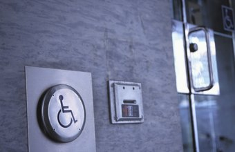 Federal rules regulate door access for the disabled.