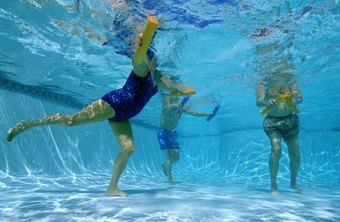 Athletes can get back in shape with pool exercises.