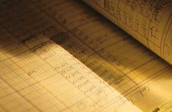 An accounting ledger helps a business follow its changing financial position.