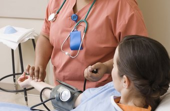 LVNs keep records of patients' vital signs.