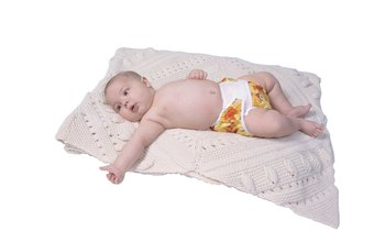 Instead of buying disposable diapers weekly, you can purchase a permanent selection of cloth diapers.