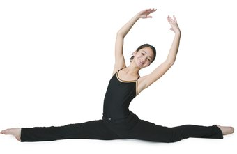 Ballet dancers and gymnasts both demonstrate flexibility during performances.