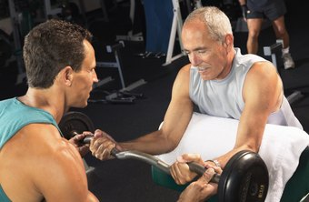 Gym attendants schedule personal training sessions at some facilities.