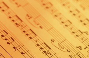 A recording might be more familiar, but sheet music is often the basis for copyright.