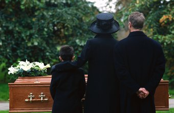 Morticians handle the details and organization of a funeral service.