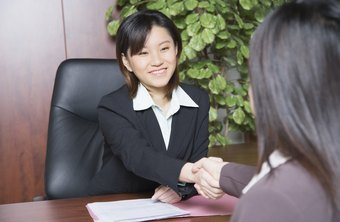 Establish rapport when interviewing job applicants.