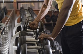 Access to a rack of dumbbells is ideal when working your traps.