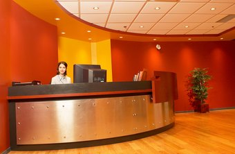 Receptionists generally earn less than administrative assistants.