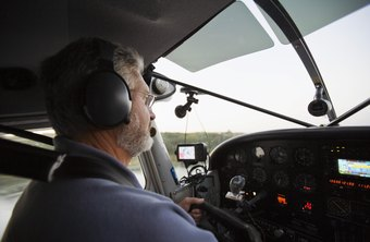 Pilots can earn a flying license at flight schools and airports.