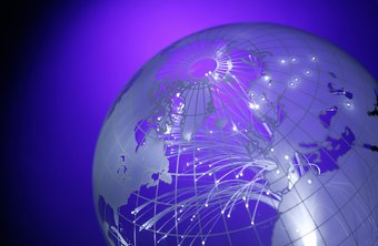 A WAN can connect sites across town or across the globe.