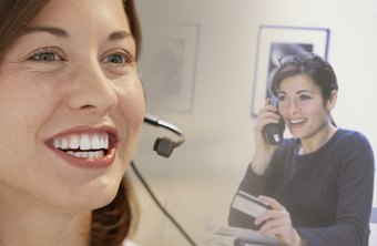 Telephone customer service can be personal and effective.