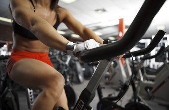 High intensity intervals are one of several effective workouts you can perform on a stationary bike.