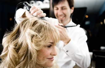 Stylists are often called upon to curl or add volume to a client's hair.