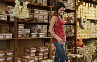 Obtain a vendor's license and wholesale supplier for your women's shoe store.