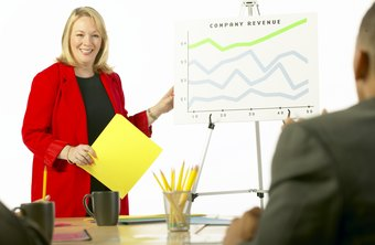 A company's financial reports communicate business trends to managers and shareholders.