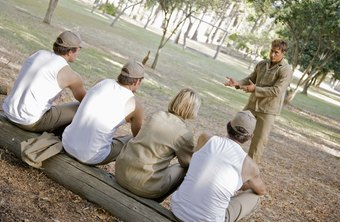 Human behaviorists may plan team building retreats.
