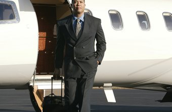 Private jets are a luxury expense with income elastic demand for a business.