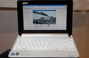 Netbook computers are compatible with a variety of applications including PowerPoint Viewer.