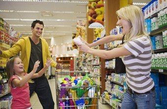 Supermarkets often combine banking and pharmacy services for the convenience of food shoppers.