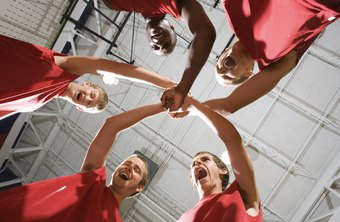 Team building improves staff cohesiveness.