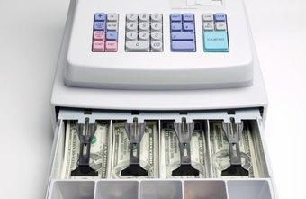 A simple cash register is your starting point for tracking sales