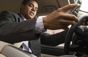 Cell phone calls while driving do not make it business mileage.