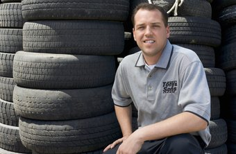 Tire shops can buy used tires and sell them in bulk to bring in additional revenue.