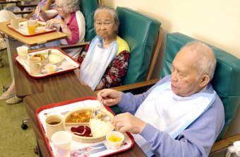 Many dietitians create meal plans for nursing homes and other long-term care facilities.