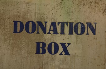 When you donate money or items to charity, the IRS allows you to claim a deduction.