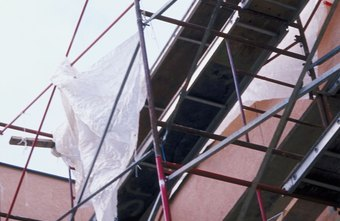 A scaffolding business rents specialized equipment for construction sites.