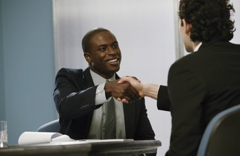 Show confidence during a job interview.