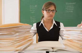 Proper training may help an inexperienced teacher from becoming overwhelmed.