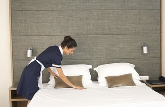 Hospitality workers work in a wide range of capacities, from cleaning hotel rooms to managing large restaurants.