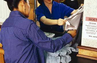 Laundry Attendants Often Deal Personally With Customers
